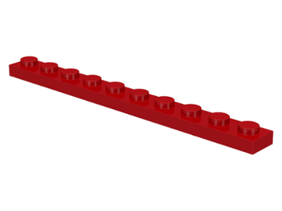Red Plate 1 x 10