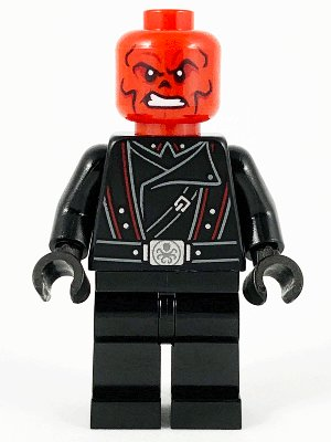 Red Skull - Black Belt