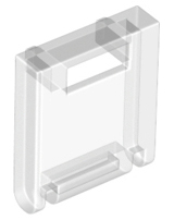 Trans-Clear Container, Box 2 x 2 x 2 Door with Slot