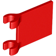 Red Flag 2 x 2 Square