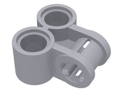 Light Bluish Gray Technic, Axle and Pin Connector Perpendicular Double