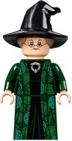 Professor Minerva McGonagall, Dark Green Robe and Cape, Hat with Hair