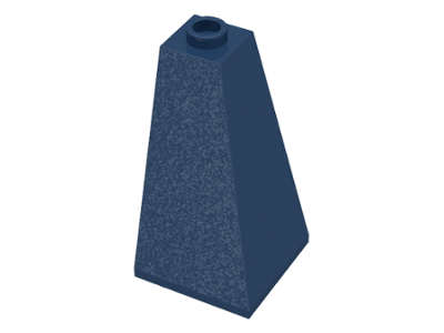 Dark Blue Slope 75 2 x 2 x 3 Double Convex
