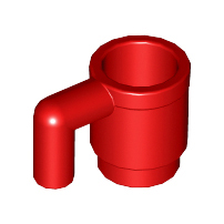 Red Minifigure, Utensil Cup