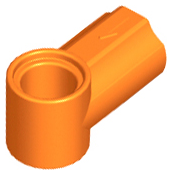 Orange Technic, Axle and Pin Connector Angled #1