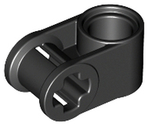 Black Technic, Axle and Pin Connector Perpendicular