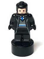 Ravenclaw Student Statuette / Trophy #1, Black Hair, Light Flesh Face