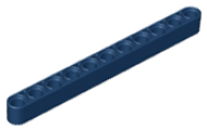 Dark Blue Technic, Liftarm 1 x 11 Thick