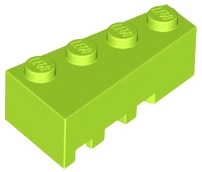 Lime Wedge 4 x 2 Right