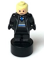 Ravenclaw Student Statuette / Trophy #2, Bright Light Yellow Hair, Light Flesh Face