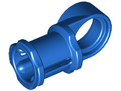 Blue Technic, Axle and Pin Connector Toggle Joint Smooth