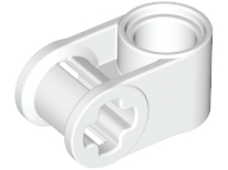 White Technic, Axle and Pin Connector Perpendicular